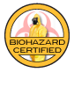 Biohazard Certified